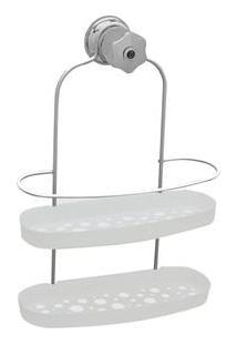 Porta Shampoo Metaltru Jumbo Luxo Bolha