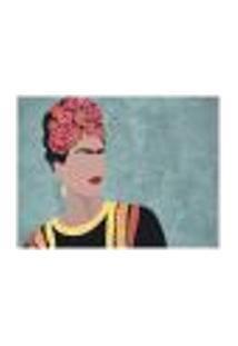 Jogo Americano (Kit 4 Unidades) Nerderia E Lojaria Frida Minimalista Colorido
