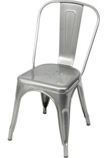 Cadeira Em Alumínio Tommy Cromada