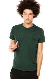 Camiseta Ellus 2Nd Floor Basic Club Cards Verde
