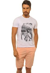 Camiseta Joss Premium New Cacique Children Masculina - Masculino-Branco
