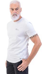 Camiseta Won Oficial Gola Canoa Branco