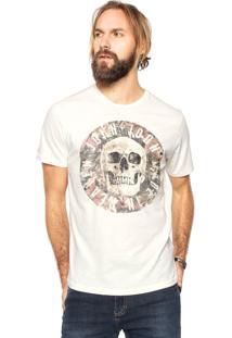 Camiseta John John Circle Bege