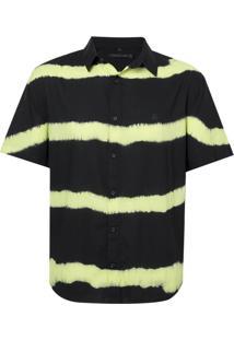 Camisa John John Lemon Algodão Preto Masculina (Preto, G)