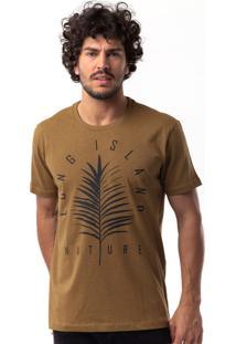 Camiseta Long Island Pmr Caramelo
