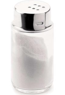 Saleiro/Pimenteiro 100Ml - Forma Inox - Vidro / Inox