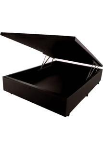 Cama Box Baú Orthocrin Couríno Brown Casal 138