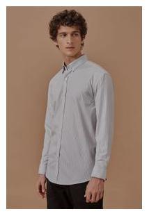 Camisa Ml Social Fio Tinto