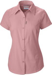 Camisa Silver Ridge Short Sleeve Mc Fem Al7122-685 - Columbia