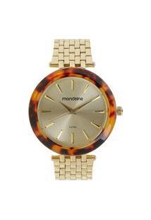 Relógio Mondaine Analógico Feminino - 76559Lpmvde2 Dourado