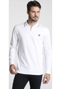 Camisa Polo Zíper