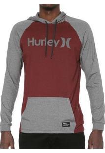 Camiseta Hurley Manga Longa Especial One&Only Masculina - Masculino