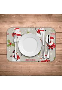 Jogo Americano De Natal Merry Christmas Kit Com 4 Pã§S - Multicolorido - Dafiti