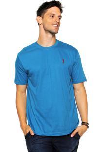 Camiseta Aleatory Reta Azul
