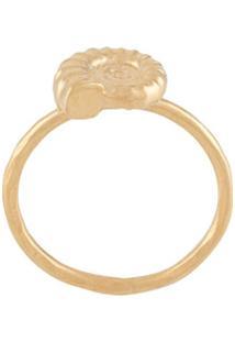 Natalie Perry Anel Ammonite - Dourado