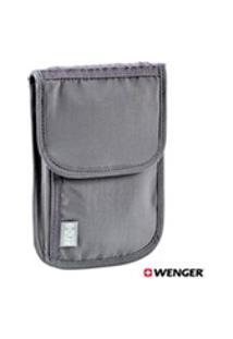 Bolsa Wenger Transversal T.A Com Tecnologia Rfid Cinza