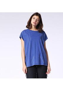 Camiseta Diesel T-Hanx Masculina - Masculino-Azul