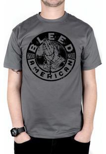 Camiseta Bleed American Prayer Chumbo