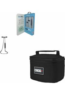 Kit Com Mini Bolsa Térmica Fitness - Dagg - Unissex
