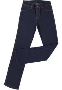 Calça Jeans Tassa Cowboy Cut Amaciada Masculina - Masculino-Marinho