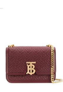 Burberry Monogram Shoulder Bag - Vermelho