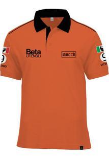 ... Camisa Polo Fórmula Retrô March 1975 Vittorio Brambilla - Masculino 9f236638f499c