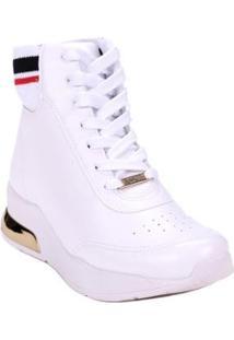 410c15e5f8 Tênis Branco Vizzano feminino