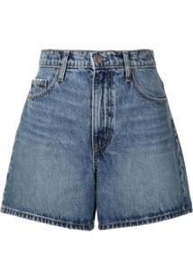 Nobody Denim Short Jeans Stevie - Azul