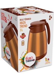 Bule Termico Ibiza Trend 1 Litros Dourado Euro Home