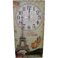 883d96d331f Relogio De Parede Para Decoracao Retro Paris Vintage