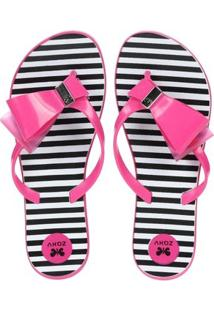 Chinelo Feminino Fresh Enjoy Rosa
