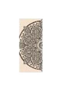 Adesivo Decorativo De Porta - Mandala - 1791Cnpt