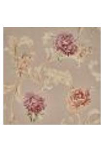 Papel De Parede Importado Vinilico Lavavel Floral Top