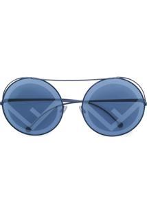a53c32a06f135 R  3465,00. Farfetch Fendi Eyewear Óculos De Sol   ...