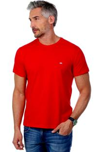 Camiseta Javali Slim Vermelha