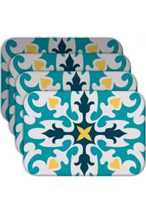Jogo Americano - Love Decor Mandala Kit Com 6 Peças - Kanui