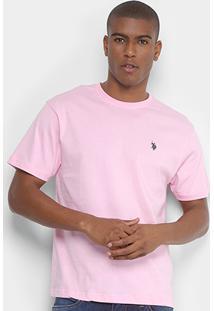 Camiseta U.S.Polo Assn Básica Logo Bordado Masculina - Masculino