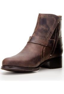 Bota Capelli Boots Country Em Couro Café