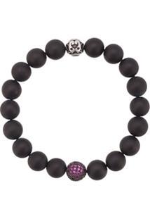Nialaya Jewelry Pulseira De Contas - Black