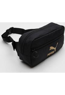 Pochete Puma Waist Bag Preta