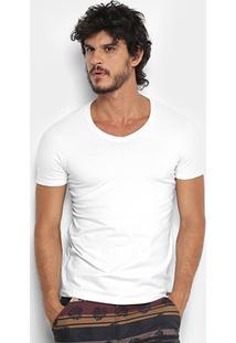 Camiseta Kohmar Cotton Gola V Masculina - Masculino