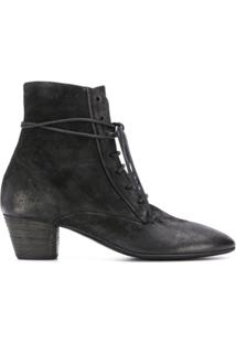 Marsèll Lace-Up Ankle Boots - Preto