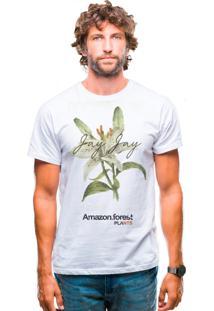 Camiseta Joss Amazon Florest Branca