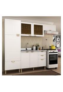 Cozinha Completa 4 Peças Americana Multimóveis 5689 Branco