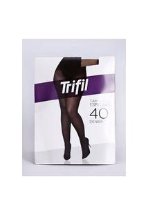 Meia-Calça Fio 40 Trifil Plus Size Feminina Natural