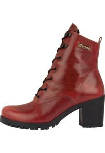 Bota Barth Shoes Wind Vermelho