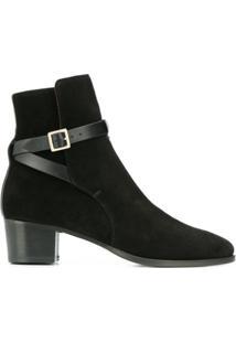 L'Autre Chose Ankle Strap Ankle Boots - Preto