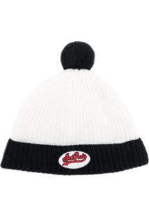 Ami Paris Gorro Com Patch - Branco