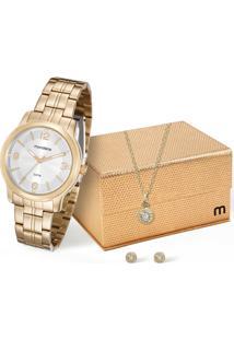 Kit Relógio Feminino Mondaine 99067Lpmvde1Kc