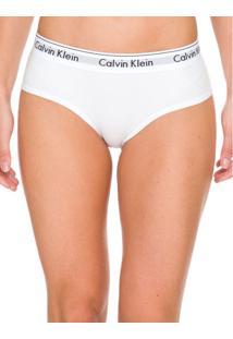 Calcinha Short Modern Cotton - Branco 2 - P